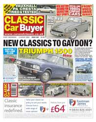 No.240 New Classics to Gaydon? issue No.240 New Classics to Gaydon?