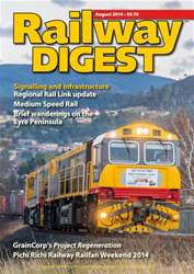 Railway Digest August 2014 issue Railway Digest August 2014