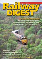 Railway Digest May 2014 issue Railway Digest May 2014