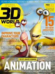 3D World Magazine Cover