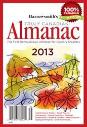 Harrowsmith's Almanac Fall  2013 issue Harrowsmith's Almanac Fall  2013