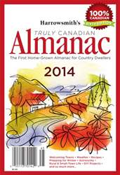 Harrowsmith Almanac 2014 issue Harrowsmith Almanac 2014