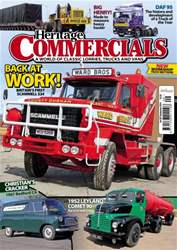Heritage Commercials Magazine Magazine Cover