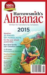 Harrowsmith's Almanac 2015 issue Harrowsmith's Almanac 2015