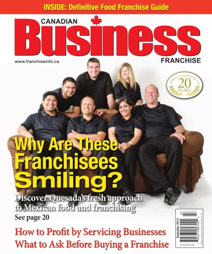 Canadian Business Franchise Digital Issue