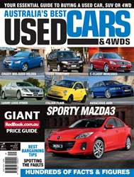 Australia's Best Used Cars and 4WDs Magazine Cover
