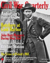 Civil War Quarterly Magazine Cover