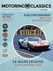 Motoring Classics Magazine Cover