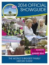 Who Do You Think You Are? 2014  Official Showguide issue Who Do You Think You Are? 2014  Official Showguide