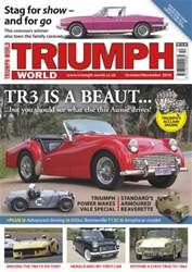 No.150 TR3 is a beaut... issue No.150 TR3 is a beaut...
