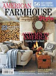 American Farm house Style Fall 2014 issue American Farm house Style Fall 2014