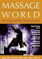 Massage World Sept 2003 issue Massage World Sept 2003