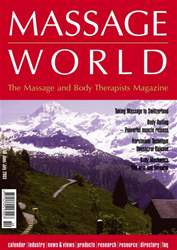 Massage World Jun–Jul 2003 issue Massage World Jun–Jul 2003