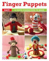 Knitted finger puppets (booklet) issue Knitted finger puppets (booklet)