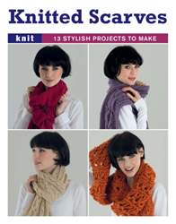 Knitted scarves (booklet) issue Knitted scarves (booklet)