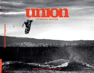 Union Wakeboarder Magazine Cover