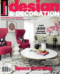 Design and Decoration Magazine Cover