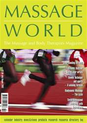 Massage World Jul-Aug 2002 issue Massage World Jul-Aug 2002