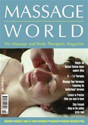 Massage World Mar 2002 issue Massage World Mar 2002