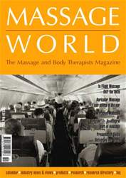 Massage World May 2002 issue Massage World May 2002