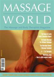 Massage World Oct 2001 issue Massage World Oct 2001