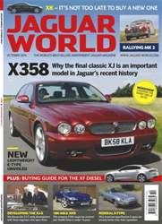 Jaguar World Magazine Cover