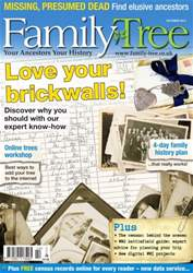 Family Tree October 2014 issue Family Tree October 2014