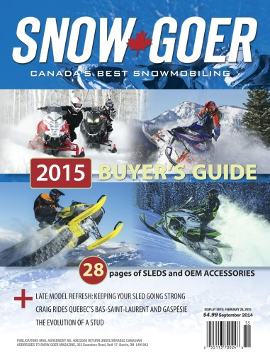 Snow Goer Canada Preview