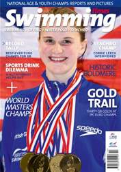 Swimming Times Magazine Cover
