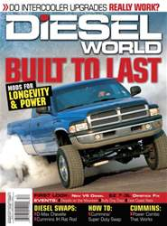 Diesel World Magazine Cover