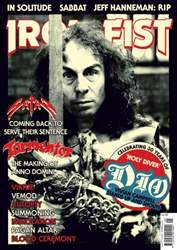 Iron Fist Magazine Cover