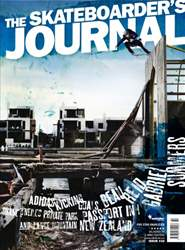 The Skateboarder's Journal #32 issue The Skateboarder's Journal #32