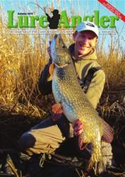 Lure Angler Magazine Cover