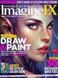 ImagineFX Magazine Cover