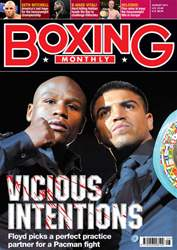 Boxing Monthly August 2011 issue Boxing Monthly August 2011