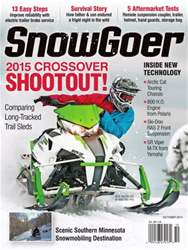 SnowGoer October 2014 issue SnowGoer October 2014