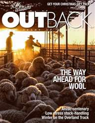 OUTBACK 97 issue OUTBACK 97