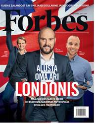 Forbes Estonia Magazine Cover