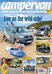 Campervan Magazine Cover