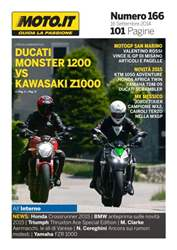 Moto.it Magazine n. 166 issue Moto.it Magazine n. 166