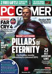 PC Gamer (UK Edition) Magazine Cover