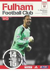 Fulham v Blackburn Rovers 2014/15 issue Fulham v Blackburn Rovers 2014/15