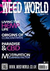 Weed World Magazine Cover