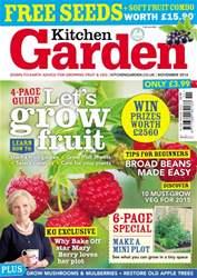Kitchen Garden Magazine Magazine Cover