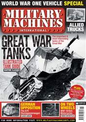 Military Machines International issue Military Machines International