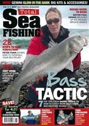 Total Sea Fishing Magazine Cover