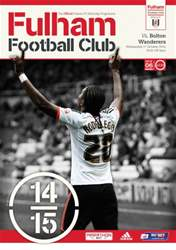 Fulham v Bolton Wanderers 2014/15 issue Fulham v Bolton Wanderers 2014/15