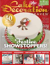 Cake Decoration Heaven Winter 2014 issue Cake Decoration Heaven Winter 2014