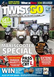 Twist & Go Magazine Cover