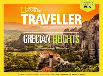 National Geographic Traveller Australia and New Zealand Magazine Cover